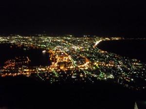 流石は世界三大夜景の1つ