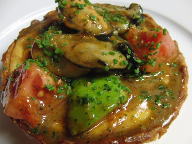 牡蠣のキッシュパイ
