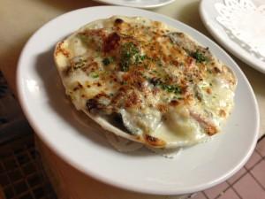 ランチ 牡蠣グラタン